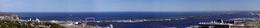 Panoramic view during Duluth MN travel