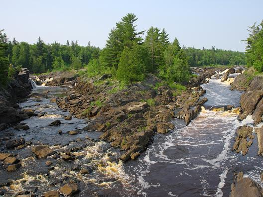 Beautiful Jay Cooke State Park Scene